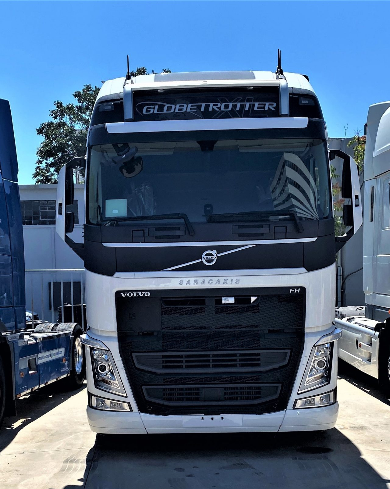 Volvo FH 500hp with i-save